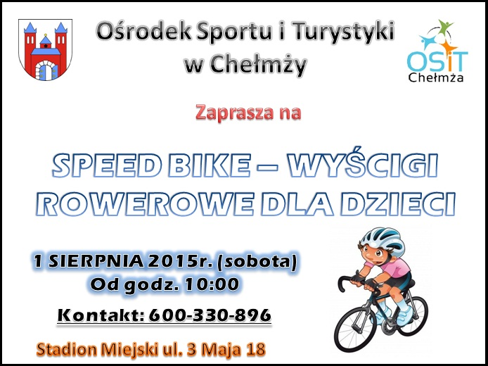 speed bike plakat