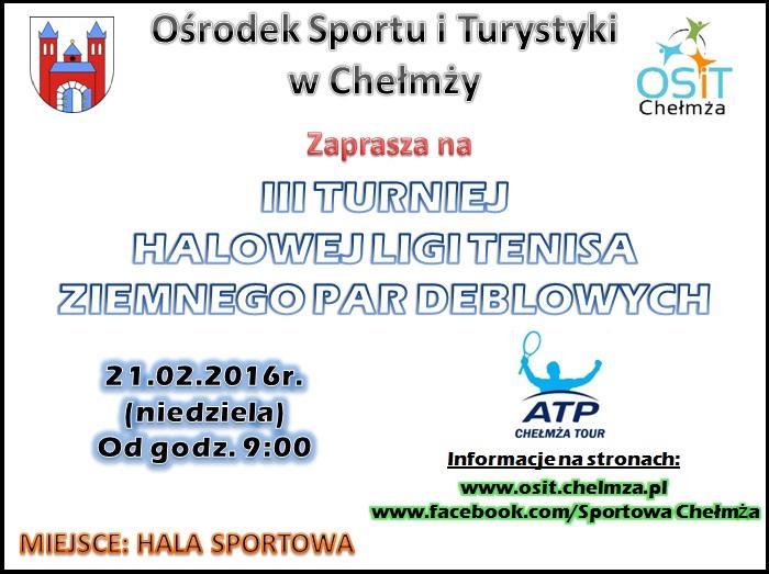 plakat III turniej