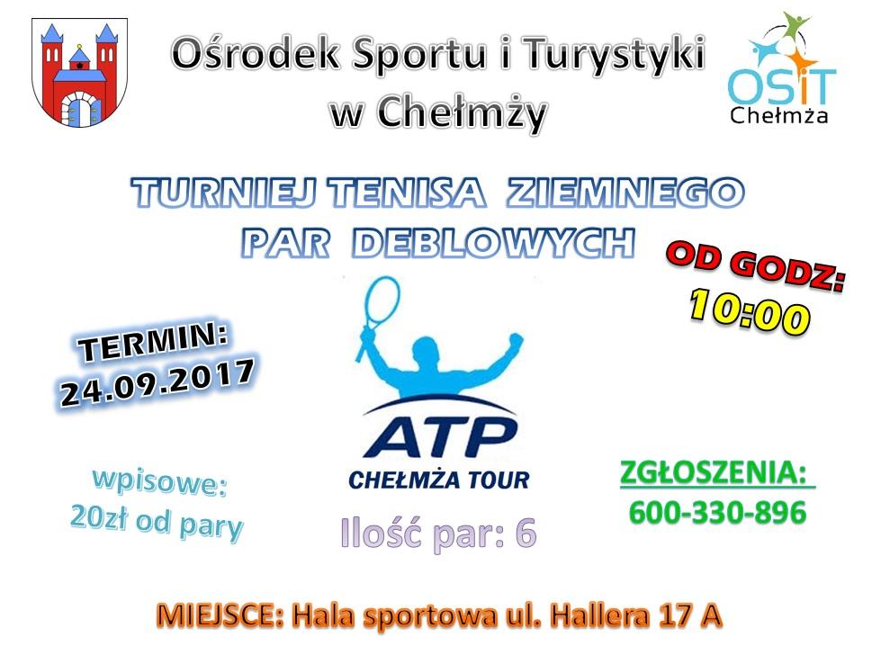 plakat turniej 24.09.2017