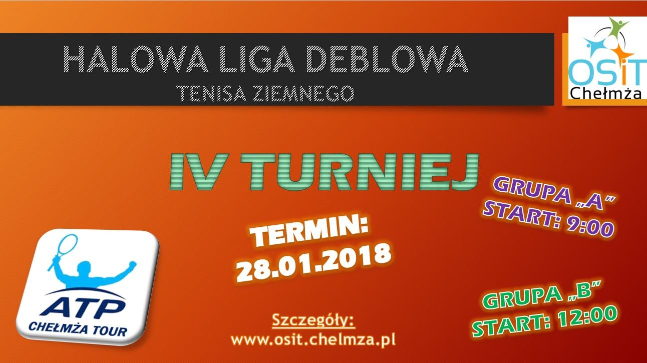 plakat na www IV turniej