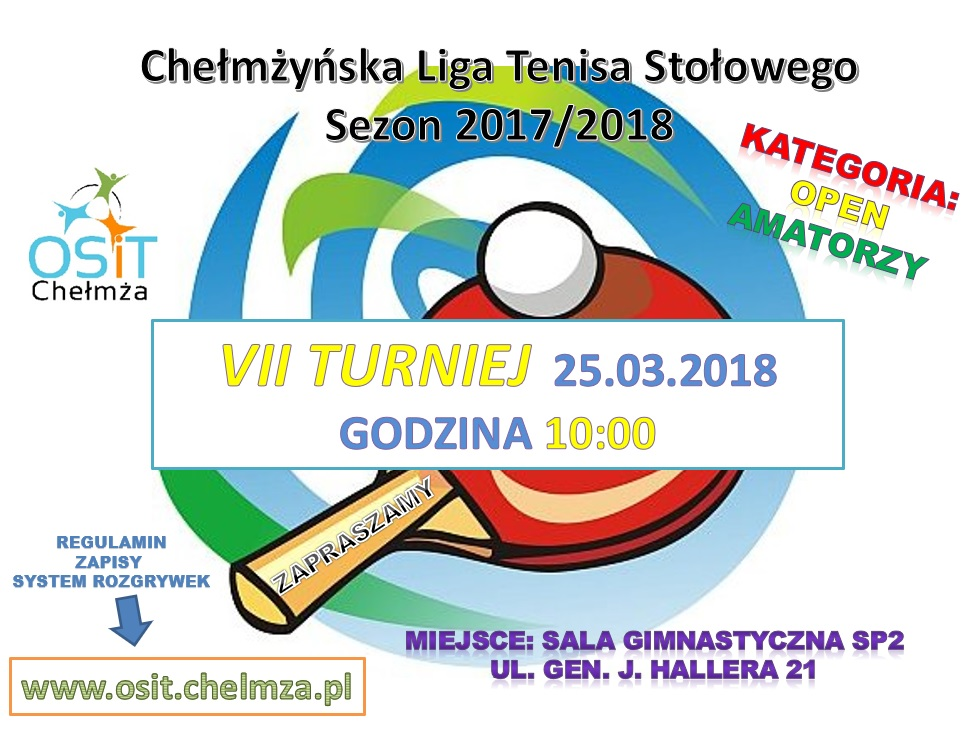 plakat VII Turniej