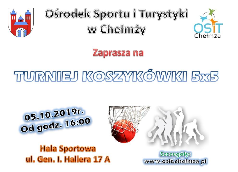 plakat 05.10.2019 koszykowka